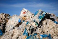 Пластичная утилизация отходов - изображение запаса Стоковые Фотографии RF