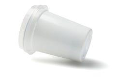 Пластичная чашка Стоковое фото RF