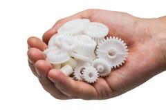 Пластичная шестерня стоковое фото