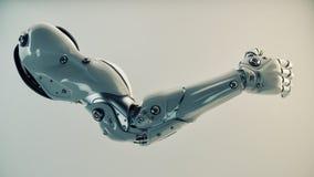 Пластичная brawny рука кибер Стоковые Фотографии RF