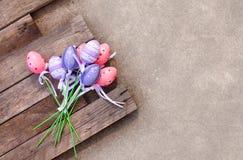 Пластичное пасхальное яйцо Стоковые Изображения RF