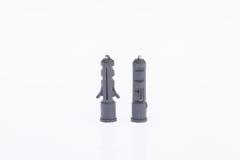 Пластичные анкеры стены Стоковая Фотография