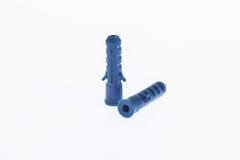 Пластичные анкеры стены Стоковое фото RF