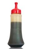 Пластичные бутылки соевого соуса Стоковое фото RF