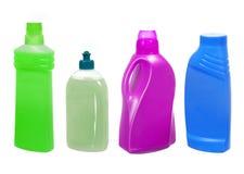 Пластичные бутылки с тензидом Стоковое Изображение