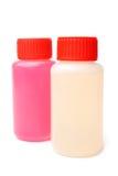 Пластичные бутылки с тензидом Стоковое фото RF