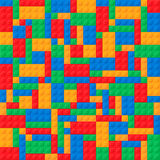 Пластичные блоки конструкции Стоковое фото RF