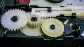 Пластичные кабель и мотор для вращения Стоковые Изображения RF