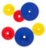 Пластичные колеса передачи Стоковые Фотографии RF
