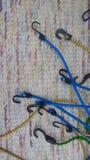 Пластичные крюки Стоковая Фотография