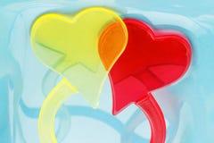Пластичные сердца Стоковые Изображения