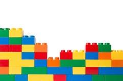 Пластичные строительные блоки Стоковое фото RF
