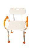 Пластичные стулья и алюминий Стоковое фото RF