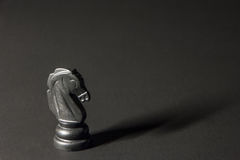 Пластичные шахматные фигуры Стоковая Фотография RF