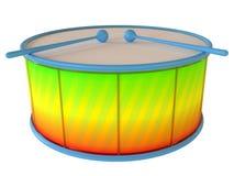Пластичный барабанчик Стоковое Фото