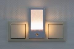 Пластичный загораться nightlight стоковые изображения rf