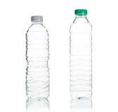 Пластичный изолят бутылки с водой Стоковое Изображение RF