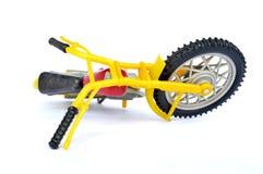 Пластичный мотоцикл Стоковое Фото