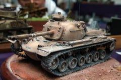 Пластичный модельный танк Стоковые Изображения RF