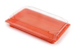 Пластичный пакет еды стоковая фотография