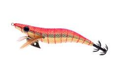 Пластичный прикорм рыбной ловли Стоковые Изображения
