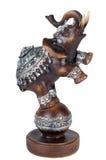Пластичный серый figurine слона Стоковые Фотографии RF