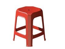 пластичный стул табуретки 3D Стоковая Фотография RF