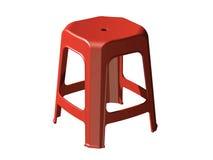 пластичный стул табуретки 3D Стоковое Фото