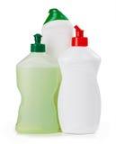 Пластичный химикат бутылки Стоковые Фото