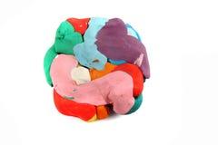 Пластилин цвета Стоковая Фотография RF