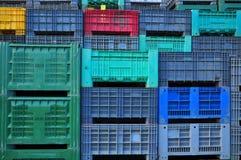 Пластмасовые контейнеры Стоковое Изображение RF