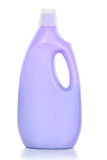 Пластмасовый контейнер чистящих средств стоковое изображение