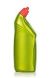 Пластмасовый контейнер чистящих средств стоковое изображение rf
