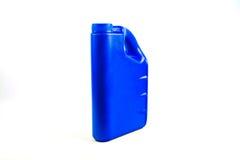 Пластмасовый контейнер для изолированного автотракторного масла, бутылки машинного масла Стоковое фото RF