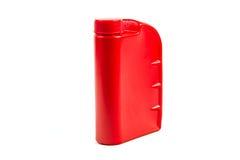 Пластмасовый контейнер для изолированного автотракторного масла, бутылки машинного масла Стоковые Фотографии RF