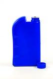 Пластмасовый контейнер для изолированного автотракторного масла, бутылки машинного масла Стоковая Фотография RF