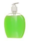 Пластмасса насоса распределителя геля, пены или жидкостного мыла Стоковое Фото