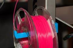Пластмасса провода ABS для принтера 3d стоковое изображение
