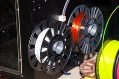 Пластмасса провода ABS для принтера 3d стоковые изображения