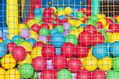 пластмасса шариков цветастая Стоковые Фотографии RF