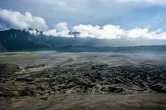Плато в острове Ява, Индонезии Стоковые Фото