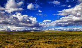 Плато злаковика неба Стоковое Фото