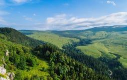 Плато Lago Naki долины в Adygea Стоковые Фото