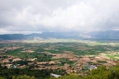 Плато Lasithi на острове Крита в Греции Стоковая Фотография RF