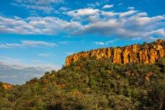 Плато Waterberg и национальный парк, Намибия стоковое изображение rf