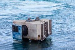 Платформа зачаливания в открытом море гавани Стоковые Фотографии RF