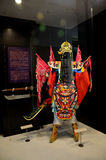 Платье вьетнамца для выставки на музее Хошимина Стоковые Изображения RF
