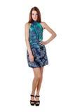 Платье девушки вкратце Стоковое фото RF