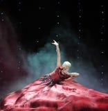 Платье красного цвета вина Стоковая Фотография RF