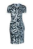Платье моды зебры Стоковая Фотография